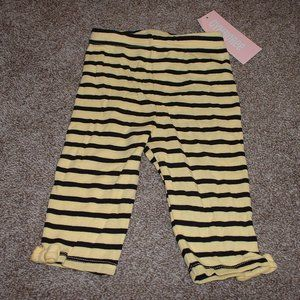 Gymboree Baby Girl Cute as Can Bee Capri Pants